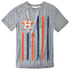 Houston Astros Big Logo Flag Tee by Forever Collectibles on Ebay