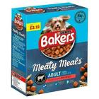 Dog food BAKERS MEATY MEALS Beef 1kg