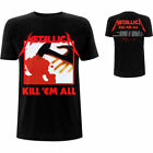 METALLICA Kill 'Em All Tracks T-Shirt (2-sided) NEW OFFICIAL All Sizes Logo image