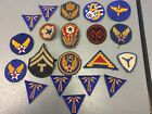 Vintage WWII US Military Patches from estste
