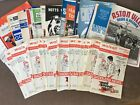 Walsall HOME and AWAY programmes 1971/72 League and Cup 3rd Division