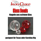 Iron Claw Glass Beads - Glasperlen für Texas oder Carolina Rig Raubfisch