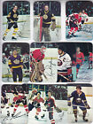 1977-78 Topps Hockey Glossy Inserts (5) Complete Sets HIGH GRADE NEAR MINT !