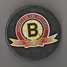 NHL Boston Bruins Game Used Puck Thanks For The Memories Boston Garden 1928-1995