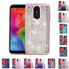 LG Q7 Plus Glitter Hybrid TPU Gradient Hard Cute Case Cover $7.09 USD on eBay