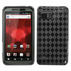 For Motorola Droid Bionic XT875 TPU Rubber Skin Flexible Case Phone Cover