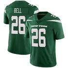 New Men's New York Jets 26# Le'Veon Bell White/Green Jersey M-3XL