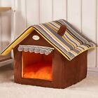 Foldable Pet House Dog Cat Bed Pad Soft Kennel Mat Warm Puppy Cushion Basket