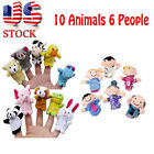 16X Story Finger Puppets 10 Animals 6 People Family Member Educational Toy Funny