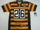 NWT LeVeon Bell 26 Pittsburgh Steelers Mens Throwback Bumble Bee Jersey