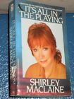 It's All in the Playing by Shirley MacLaine paperback  0553272993