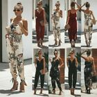 Women Jumpsuit Summer Fashion Strappy Playsuit Lady Holiday Party Beach Clothes