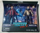 "Marvel Legends STAR LORD & EGO Guardians 2-Pack 6"" Action Figures Boxed New GOTG"