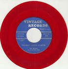INITIALS -Vintage 1006- You Didn't Answer My Letter (unrel)- red wx - DOO-WOP M-