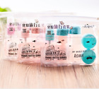 Внешний вид - 7Pcs/set Mini Travel Mini Plastic Transparent Empty Make Up Container Bottle Kit