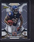 Jeremy Langford 2015 Topps Finest Football Rookie Card # 3 Chiago Bears MINT !