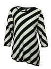 INC Women's Scoop Neck Striped Sweater