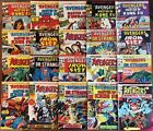 THE AVENGRS - Complete 20-Issue Set 46-65 (1975, Bronze Age) Marvel UK Weekly