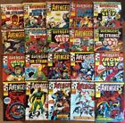 THE AVENGRS - Complete 20-Issue Set 66-85 (1975, Bronze Age) Marvel UK Weekly