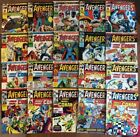 THE AVENGRS - Complete 20-Issue Set 86-105 (1975, Bronze Age) Marvel UK Weekly