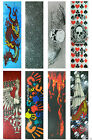 "Graphic Skateboard Deck Grip Tape Multiple Design 33"" x 9"" image"
