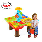 Sand Water Table Kids Toddler Play Toy Outdoor Box Beach Activity Set New Toy
