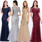 Ever-pretty Sequins Long Formal Bodycon Evening Gown Prom Dress Celebrity 07707