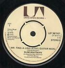 """SLIM WHITMAN Mr.Ting-A-Ling 7"""" VINYL UK United Artists 1976 Four Prong Label"""