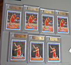 (7) Beckett Basketball 9.5 Blake Griffin Derick Rose rookie card lot Piston's