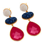 Druzy Special Handmade Super Duper Hot Luxury Women Fashion Party Love Earring