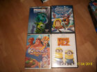 5 DVD Disney Pixar Monster Inc&Kronk's New Grove-Despicable Me 2-Scooby DOO Chil