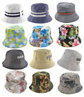 Mens Ladies Bucket Sun Festival Bucket Travel Outdoor Flower Cap Hat Boonie Camo