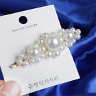 Pearl Acrylic Crystal Hair Clip Slide Hair Pin Barrette Bridal Hair Accessories