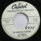 50S & 60S Promo 45 Ray Martin - The Whistling Sergeant / Tango In The Rain On Ca
