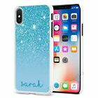 Personalised Phone Case Cover for Apple iPhone Initial Text Name 073