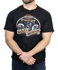 Harley-Davidson Mens First Knucklehead Motorcycle Trademark B&S Black T-Shirt image