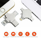 64GB 512GB 4 in1 Type-C USB Flash U Drive Memory Stick For iPhone Android PC Lot