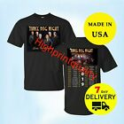 Three Dog Night Shirt Tour Dates 2019 T-Shirt Black Men Size M-L-XL-2XL-3XL