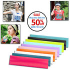 Womens Mens Unisex Sport Sweat Sweatband Headband Yoga Gym Hair Band Stretch