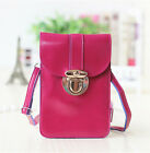 Women Shoulder Bag Crossbody Pocket card Wallet Phone Case Pouch Leather Cover