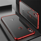 For Xiaomi Mi Mix 3 Max 3 Plating Soft Silicone Hybrid Clear TPU Back Case Cover