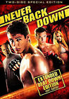Never Back Down (DVD, 2008, 2-Disc Set) NEW SEALED Extended Beat Down Not Rated