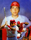 Johnny Bench Catcher Cincinnati Reds MLB Baseball Stadium Art Print 11x14-48x36