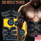 US Rechargeable Simulator EMS Training Smart Body Abdominal ABS Muscle Exerciser image