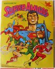 VINTAGE Album Super Friends Dc COMICS 128+24 Full STICKER 70s REYAUCA/VENEZUEL#3