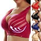 h8 Women Puls Push Up Bra Full Coverage Bra Lace Wireless Adjustable Breathable