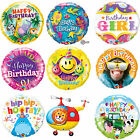 Qualatex Happy Birthday Foil Party Balloons - Kids Mum Dad General Child Helium