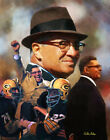Vince Lombardi Green Bay Packers Legendary Coach NFL Football 8x10-48x36 CHOICES