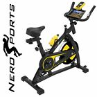 Nero Sports Exercise Bike Studio Cycle Indoor Training - 12kg Spinning flywheel