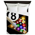 CafePress 8Ball_Large Queen Duvet (1029256704) $119.99 USD on eBay